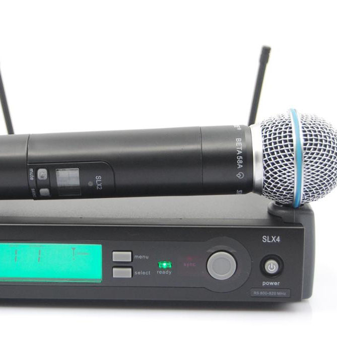 SL24/BTA58a (623-660Mhz) Handheld Wireless System