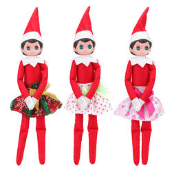 Hot Sale Fashion Handmade 3 Items/Lot Dolls Accessory Kids Toys Doll Dresses TuTu Skirt For 35 Cm Red Dolls Best DIY Present