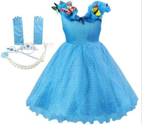 Chico nuevo diseño vestido de la manera vestido de noche vestido de niña