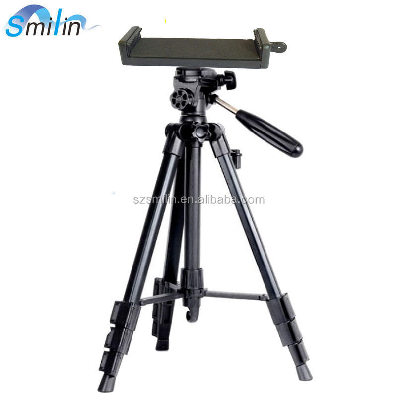 "Professional Classic Tripod Camera Mount with projector Mount Clamp for iPad mini 1/2/3/4/5,7""tablet,GIMI Z4 AIR,XM M1 S1"