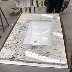 Prefab Granite 47 Inch Vanity Top With Sink