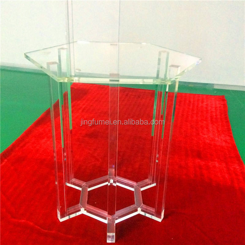 acrylic stool technician perspex petrified Transparent Bar Furniture acrylic Table lucent bar Table Meeting room coffee table