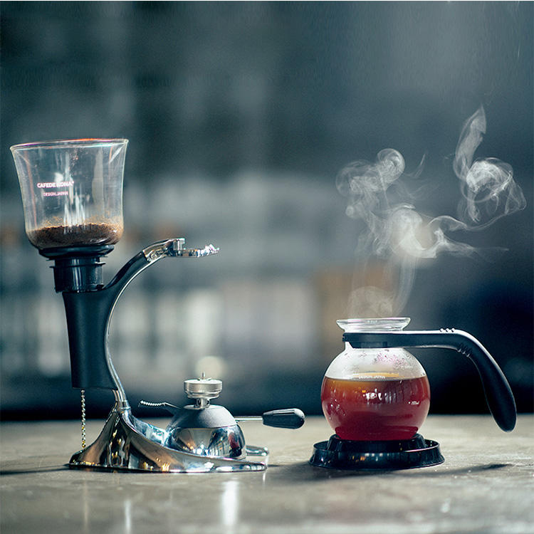 New Style 3 Cup Syphon Tea Coffee Maker