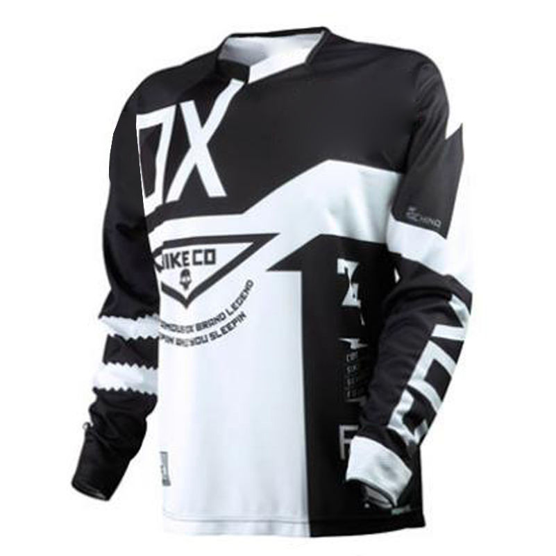 Custom Sublimation Print Mountain Bike Jersey Customized MTB Motocross Jersey