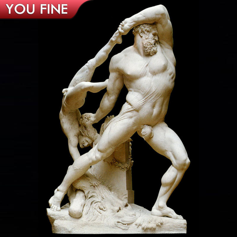 Hercules Lichas Nude Man Life Size Greek Statues For Sale