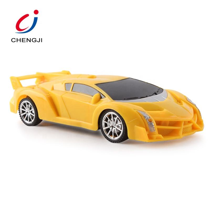 Super Racing Game Kids Mini Plastic Yellow 1 20 Scale Rc Cars With Light