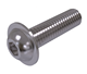 ISO 7380-2 Stainless Steel Hexagon socket flanged button head screw