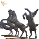 Bronze statue antique bronze horse sculpture