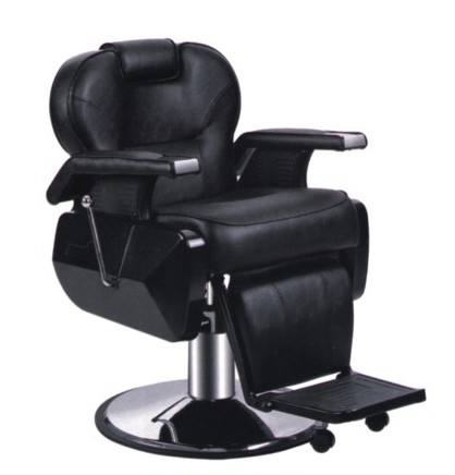Reclining hydraulic pump cadeira de barbeiro silla de peluquero black men's salon equipment beauty salon barber chair