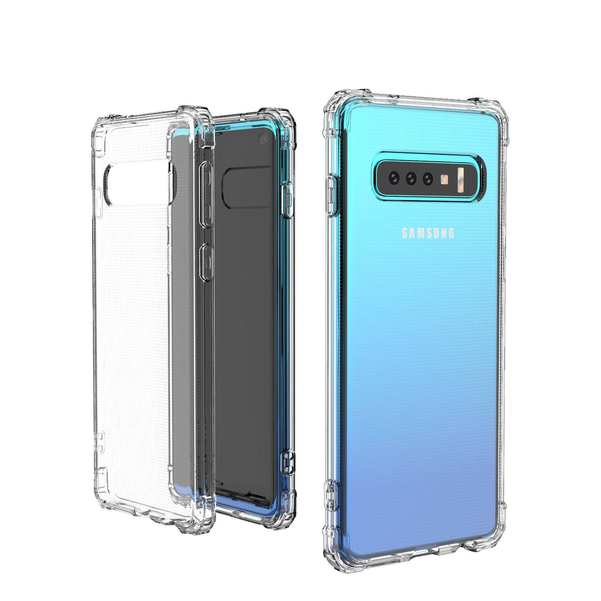 Ultra Hybrid for Samsung S10 Case with Air Cushion Technology Hybrid Drop Protection for Samsung S10plus S10e crystal clear case