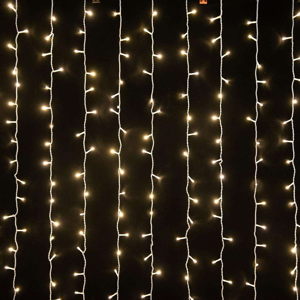 300/600 LED String Fairy Curtain Lights Indoor/Outdoor Garden Party Wedding Xmas