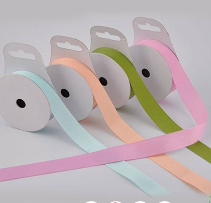 1 inch solid color grosgrain ribbon