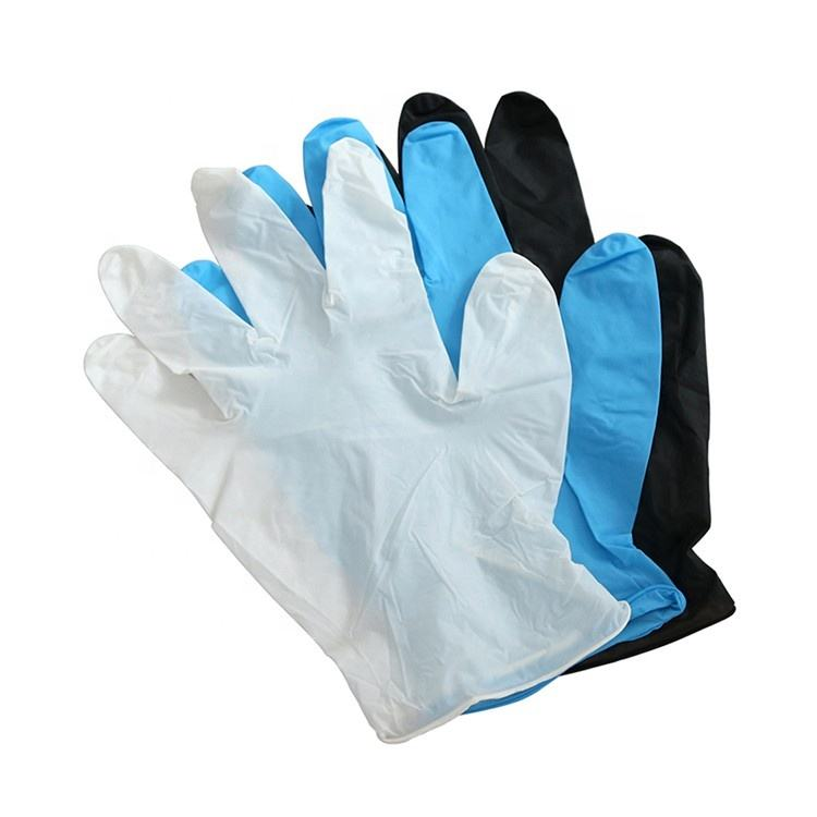 Xingyu Colored Disposable Nitrile Gloves Medical Powder Free
