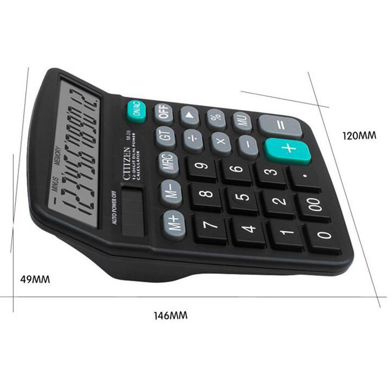 OEM Promotional Big LED Display Large Button Two Way Power Standard Scientific Calculator