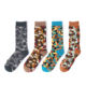 CYSHMILY New Autumn and Winter Personality Creative Camouflage Boys Fashion Breathable Tube Cotton Socks