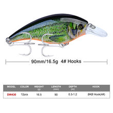 Fulljion Top Custom Fishing Lures Hard Plastic Crankbait
