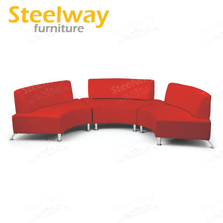 3 Seat [ Sectional Sofas ] Door To Door Half Round Red Sectional Sofas Outdoor Event Hire