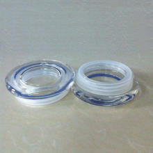 Glass airtight lids with silicone stopper