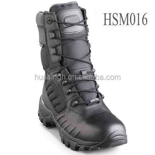 GH, lites 무장 찰 력 electric shock proof leather black dsm 전투 boots