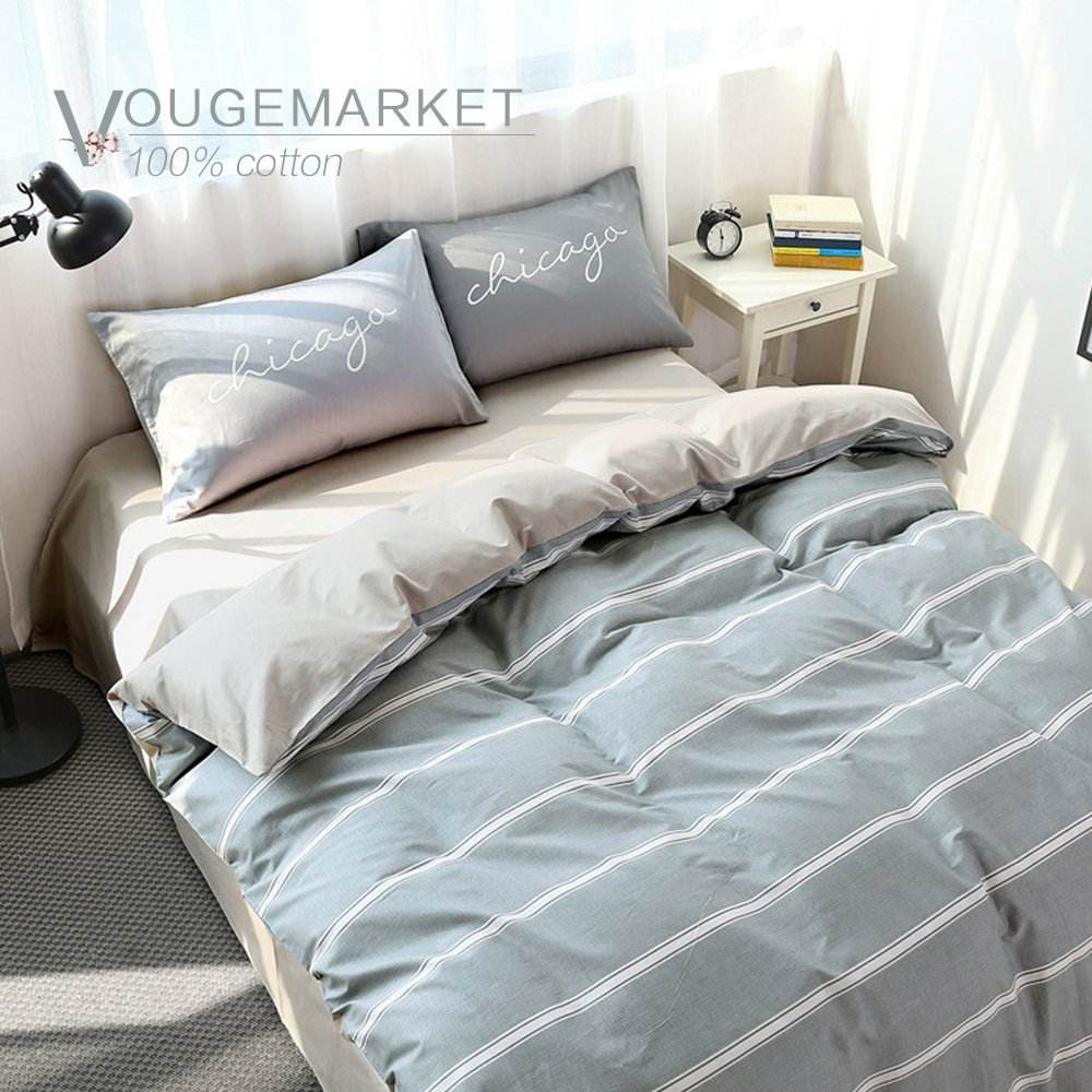 Home textile bedding set 100% cotton queen size duvet bed cover