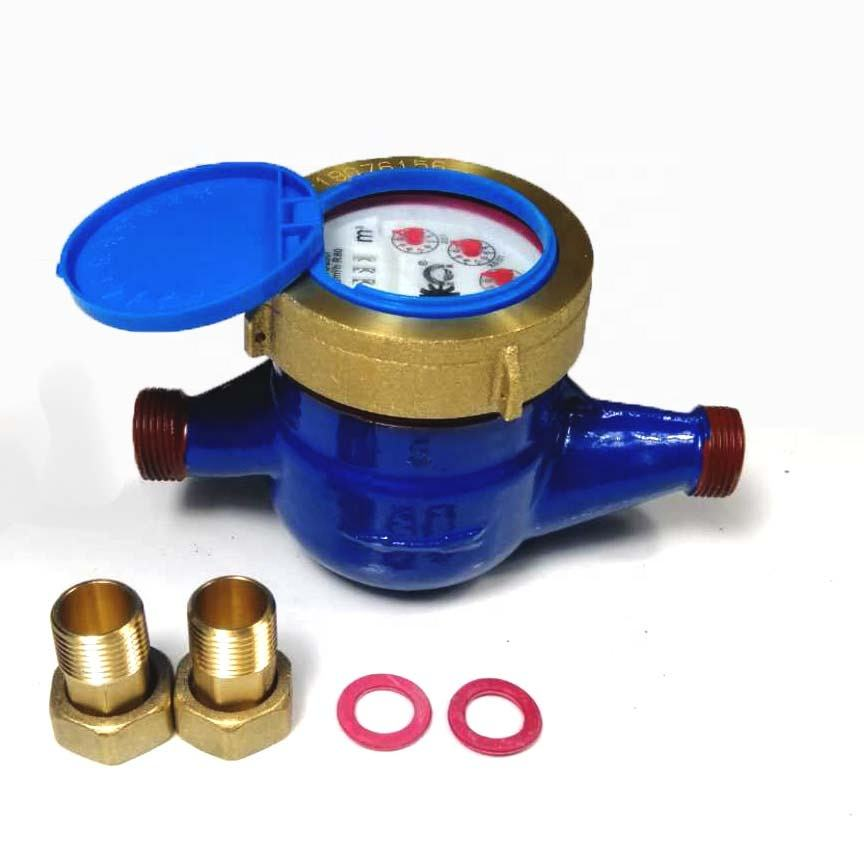 DN15 rotor wet copper water meter