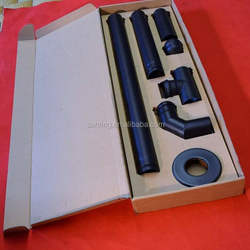 Complete pellet stove vent kit pipe