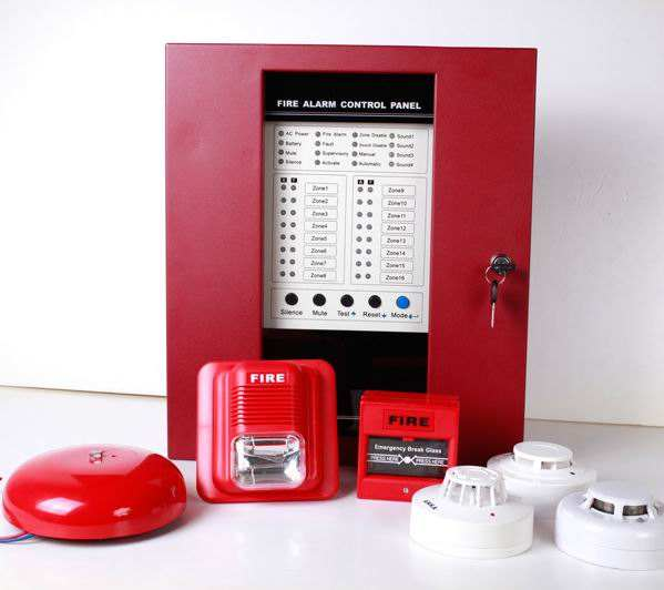 8 zones Fire Alarm Control Panel Fire alarm system for sale