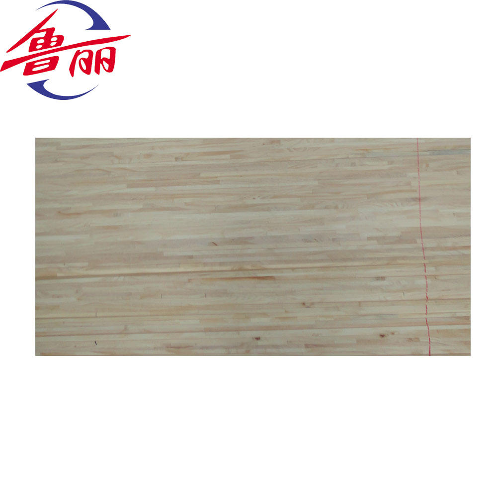 Beech wood finger joint panel board for construction
