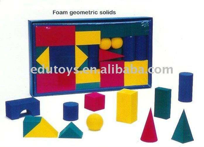 образовательных геометрические eva пены блок