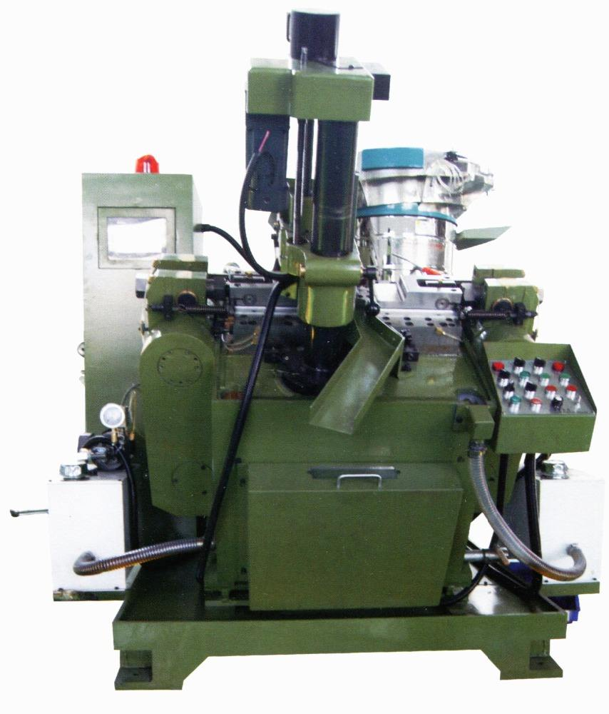 Self-drilling screw point/end/tip forming machine, self-drilling screw
