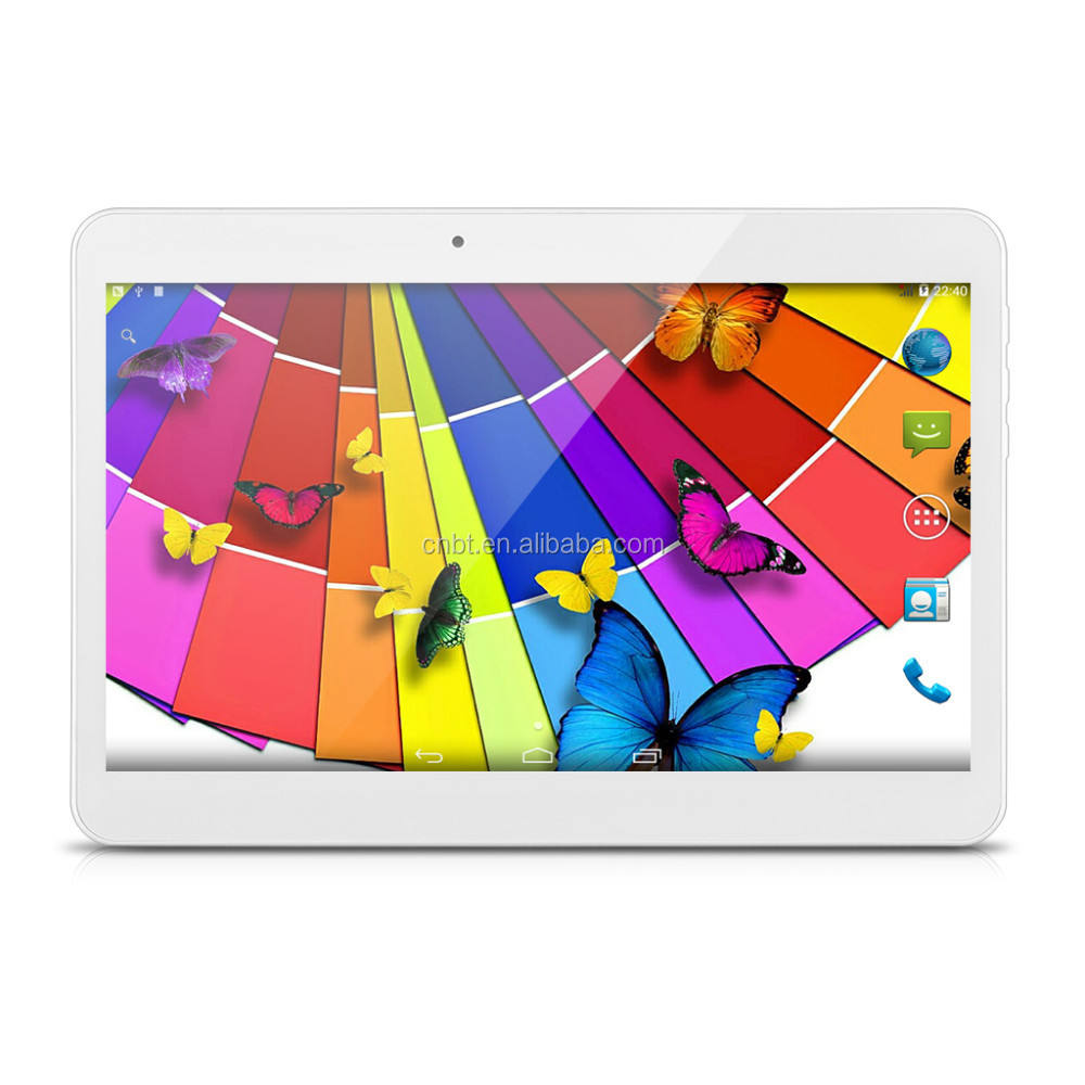 High definition 1280*800 3 Gam Tablet PC 10 Inch Quad Core 3 Gam Tablet 10.1 với NFC