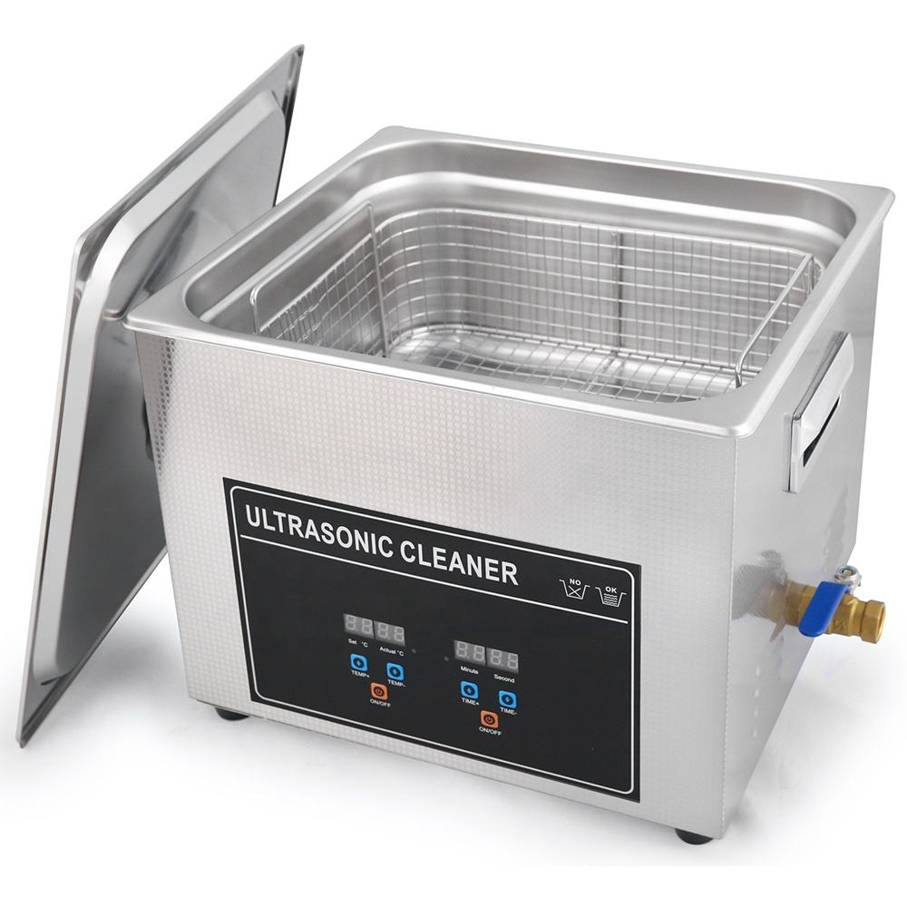 CJ-060S 15L Ultrasonic power 360/480/540W Optional spare parts ultrasonic cleaner Ultrasonic cleaner
