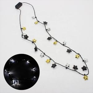 New style led christmas light necklace led flashing necklace