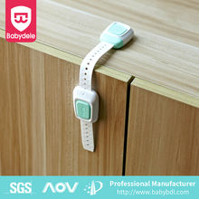 amazon hot selling Cabinets Appliances Furniture Door Drawers Fridge Baby Proofing Adjustable Strap latches Child Safety Locks