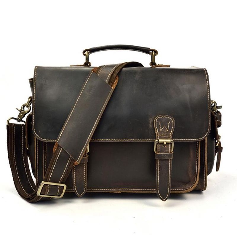 Dreamtop DTG400 메신저 vintage style storage bag 대 한 camera (high) 저 (quality 어깨 DSLR camera bag <span class=keywords><strong>가죽</strong></span>