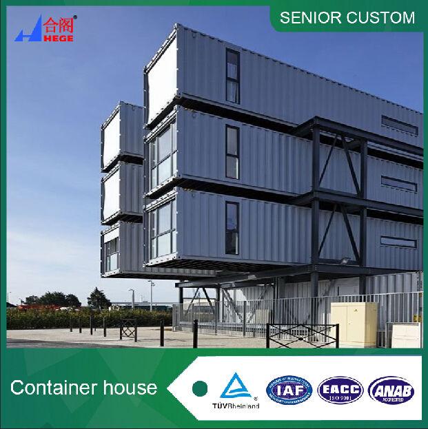 Movable nueva casa contenedor de envío, oficina móvil nuevo contenedor de envío, edificio móvil nuevo contenedor de envío