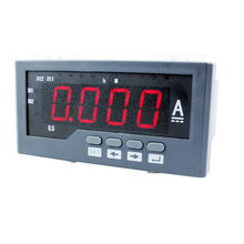 ME-DA41 120*60mm hot sale single-phase dc amp panel meter, can add switch input and alarm output