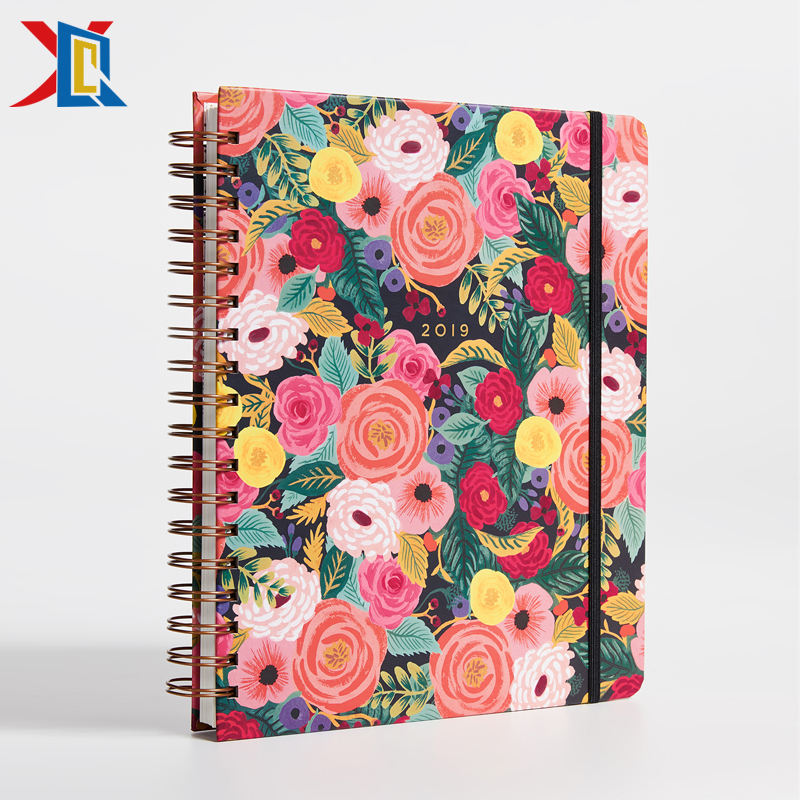 A5 2019 Spiral Planner Organizer Agenda Diary Weekly With Elastic