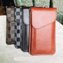 Factory Business style PU Leather wallet phone bag phone case for Universal phone