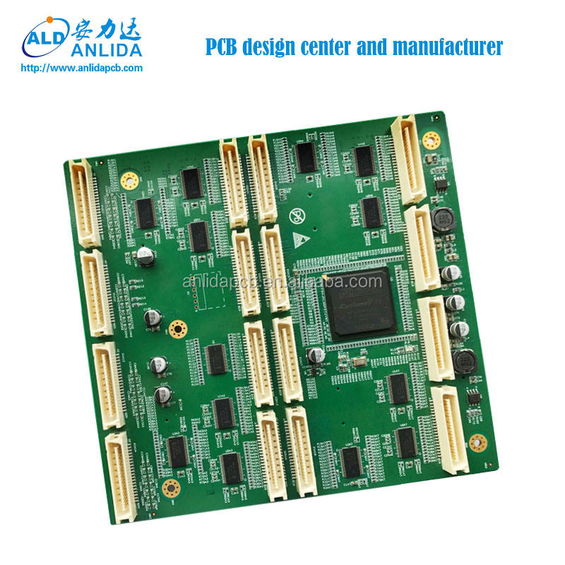 PCB Supplier 12 층 PCBA 벌 Printed Circuit Board Assembly