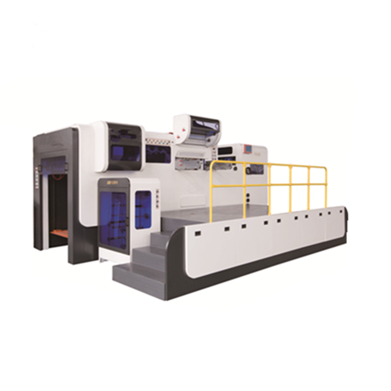 Automatic Flat Bed Die Cutting Diecutting Machine Cut Cardboard Machines