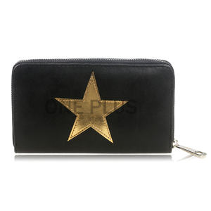 New Fashion star PU Long Wallet for women