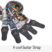 OEM Guitar Straps Canvas Printed Guitar Straps Factory manufacturing