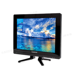 RAGGIE 15 pulgadas Solar DC 12V Mini LED TV nivel pantalla Full HD gran oferta