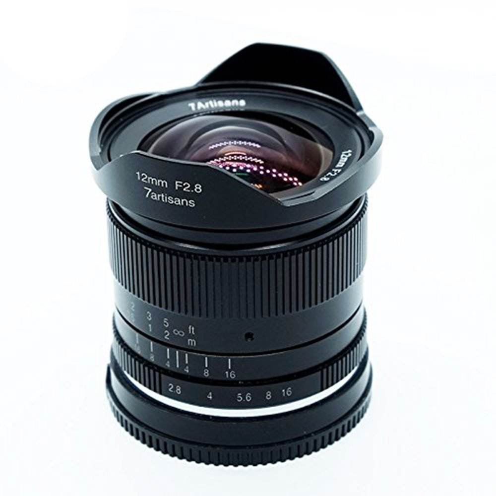 12mm F2.8 for Canon EOS lens EF-M Mount M1 M2 M3 M5 M6 M10 Ultra Wide Angle Manual Focus Prime Fixed Mirrorless Camera Lens