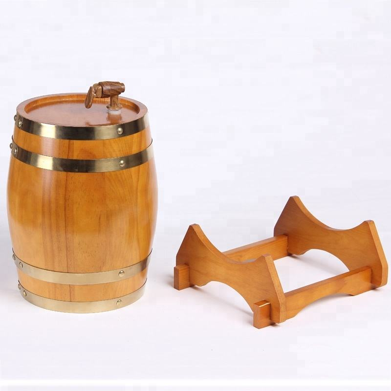 Customized handmade Wooden Wine Barrel