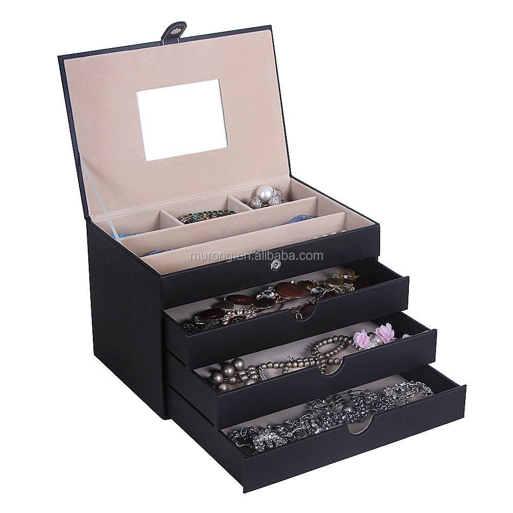 Lederen Sunglass Glazen Display Case Organizer Collector Box