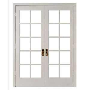 pvc/upvc double tempered glazing casement doors