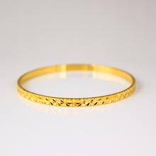 Fashion Gold Plated Bracelet 18k Gold Lovely Women Bracelet Bangle