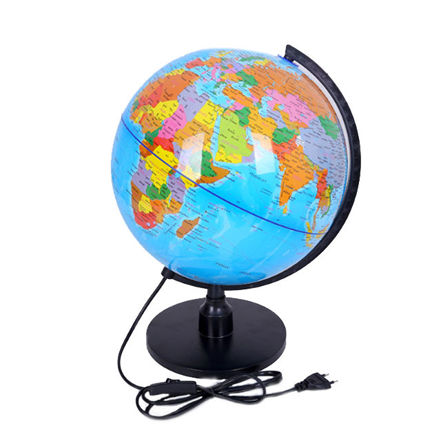 Unique 23CM PVC Rotating Teaching Big Size World Globe